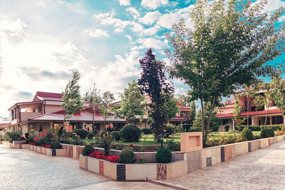 gradina - Vox Maris Grand Resort | Costinesti - www.voxmaris.ro